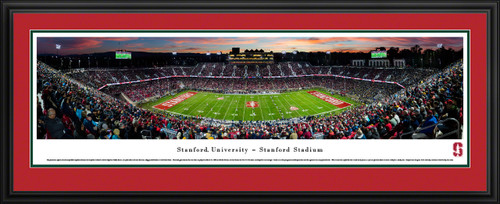 Stanford Cardinal Football Panoramic Picture - Stanford Stadium