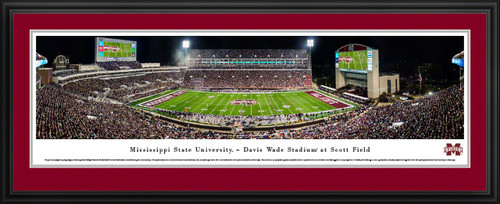 Mississippi State Bulldogs Football Panoramic Picture - Davis Wade Stadium