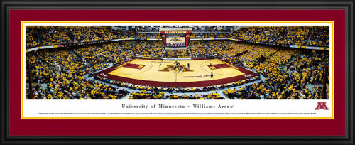 Minnesota Golden Gophers Basketball Panorama - Williams Arena