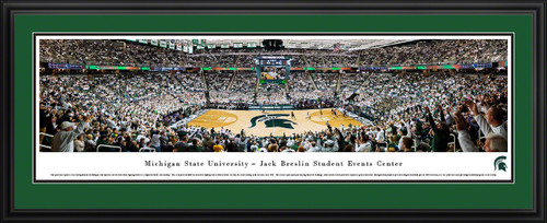Michigan State Spartans Basketball Panorama - Breslin Student Events Center