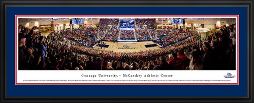 Gonzaga Bulldogs Basketball Panoramic Picture - McCarthey Athletic Center