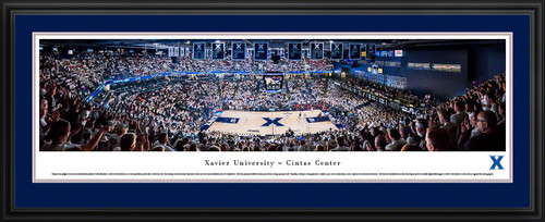 Xavier Musketeers Basketball Panoramic Picture - Cintas Center