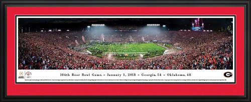 2018 Rose Bowl Panoramic Picture - Georgia Bulldogs