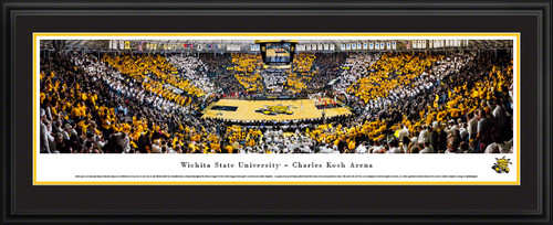 Wichita State Shockers Basketball Panoramic Picture - Charles Koch Arena