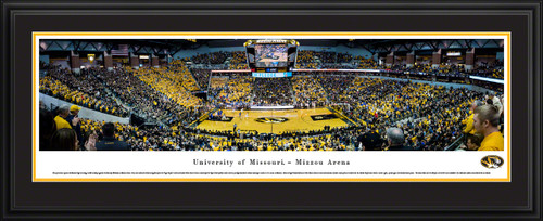 Missouri Tigers Basketball Panoramic Picture - Mizzou Arena