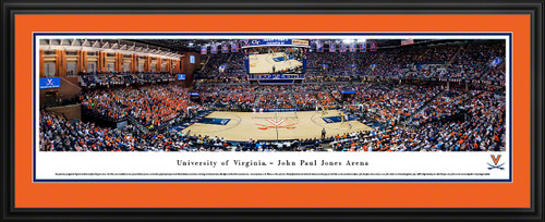 Virginia Cavaliers Basketball Panoramic Picture - John Paul Jones Arena