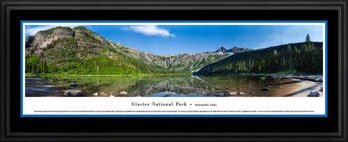 Glacier National Park Scenic Panorama - Avalanche Lake