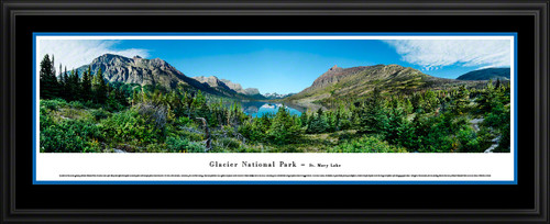 Glacier National Park Panorama - St. Mary Lake