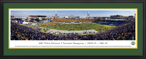 2018 NCAA FCS Football Championship Panoramic Picture - NDSU Bison