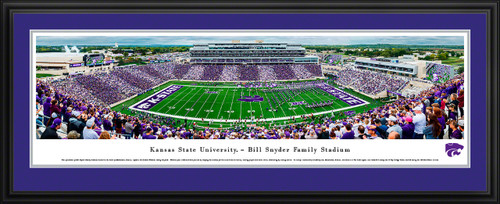 K-State Wildcats Football Panorama - Kansas State Bill Snyder Family Stadium