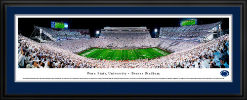 Penn State Nittany Lions Football Fan Cave Decor - Beaver Stadium Panorama