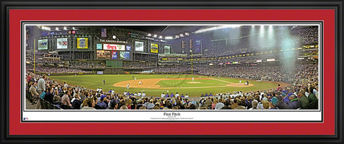Arizona Diamondbacks Panoramic Picture - Bank One Ballpark MLB Wall Decor