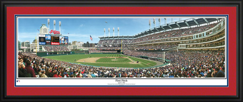 Cleveland Indians Panoramic Picture - Jacobs Field MLB Wall Decor