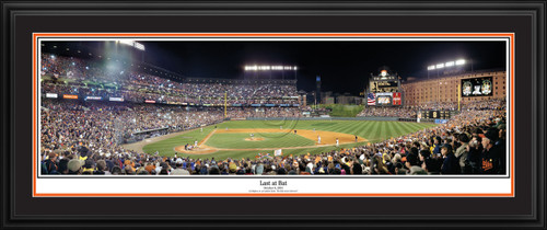 Baltimore Orioles Panoramic Picture - Camden Yards MLB Wall Decor