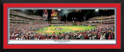 Philadelphia Phillies Panorama -2008 World Series Champions - MLB Wall Decor