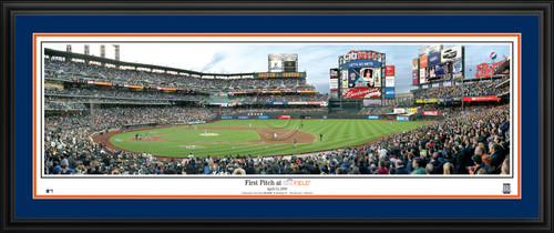 New York Mets Panoramic Picture - Opening Day at Citi Field - MLB Wall Decor