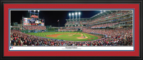 Cleveland Indians Panoramic Picture - Progressive Field MLB Wall Decor