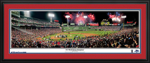 Boston Red Sox Panorama - 2013 World Series Champions MLB Wall Decor