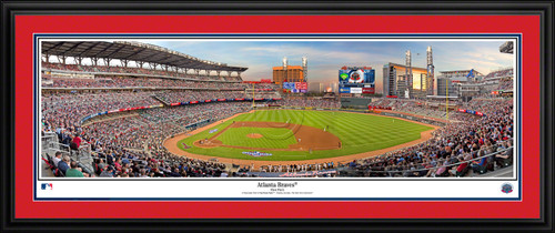Atlanta Braves Panoramic Picture - SunTrust Park MLB Wall Decor