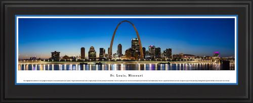St. Louis, Missouri City Skyline Panoramic Picture