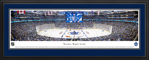Toronto Maple Leafs Panorama - Scotiabank Arena Fan Cave Wall Decor