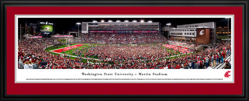 Washington State Cougars Football Panoramic Poster