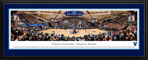 Villanova Wildcats Basketball Panoramic Poster - The Pavilion