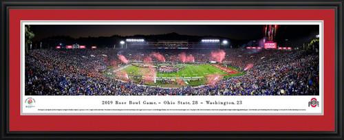 2019 Rose Bowl Game - Victory Celebration Panoramic Poster
