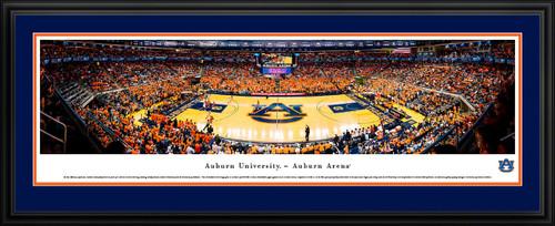 Auburn Tigers Basketball Panoramic Poster - Auburn Arena