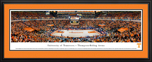 Tennessee Volunteers Basketball Poster - Thompson-Boling Arena Panorama