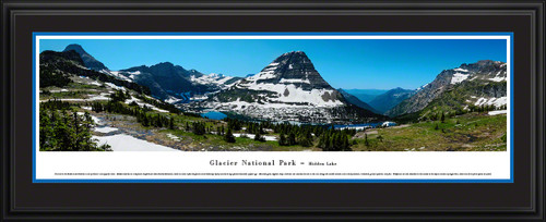 Glacier National Park Panorama - Hidden Lake