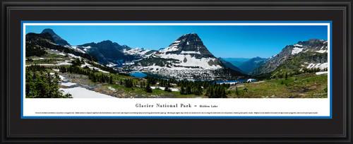 Glacier National Park Panorama - Hidden Lake