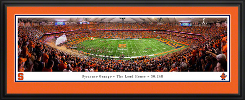 Syracuse Orange Football Panoramic Poster - The Loud House Dome Picture