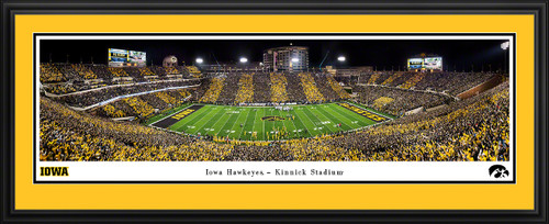 Iowa Hawkeyes Football Panoramic Poster - Kinnick Stadium