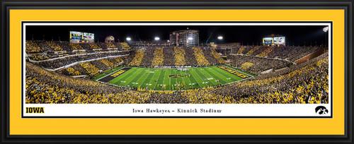 Iowa Hawkeyes Football Panoramic Poster - Kinnick Stadium