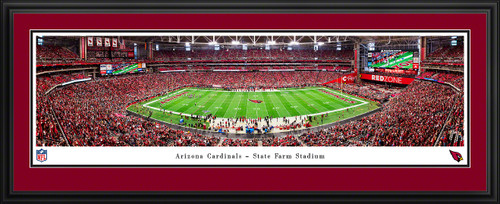 Arizona Cardinals Panoramic Poster - State Farm Stadium Picture