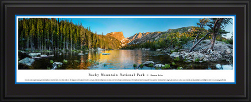 Rocky Mountain National Park Dream Lake Scenic Landscape Panoramic Decor