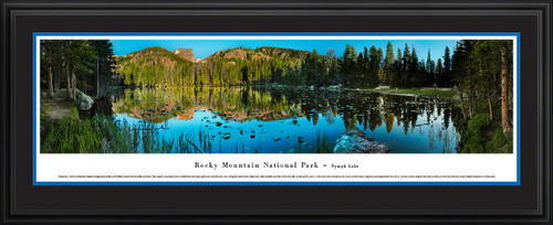 Rocky Mountain National Park Nymph Lake Scenic Landscape Panoramic Decor