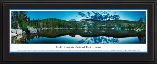 Rocky Mountain National Park Bear Lake Scenic Landscape Panoramic Decor