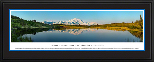Denali National Park Scenic Panorama - Reflection Pond