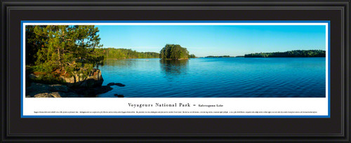 Voyageurs National Park Panoramic Picture - Kabetogama Lake