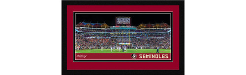 Florida State Seminoles Football Framed Panoramic Picture
