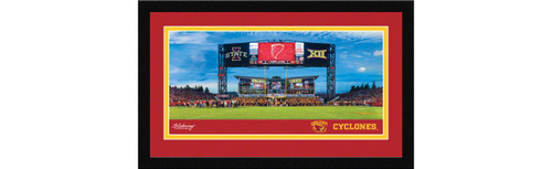 Iowa State Cyclones Football Framed Panoramic Picture - Jack Trice Stadium