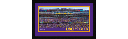 LSU Tigers Football Framed Panoramic Picture - Tiger Stadium