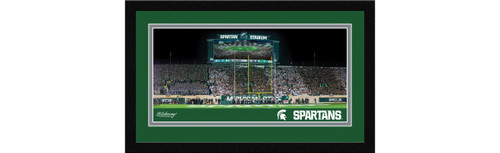 Michigan State Spartans Football Framed Panoramic Picture - Spartan Stadium