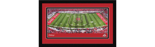 Ohio State Buckeyes Football Framed Panoramic Picture - Ohio Stadium