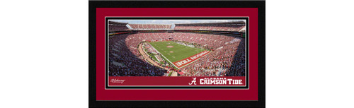 Alabama Crimson Tide Football Framed Panoramic Picture - Bryant-Denny Stadium