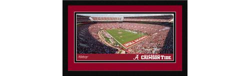 Alabama Crimson Tide Football Framed Panoramic Picture - Bryant-Denny Stadium