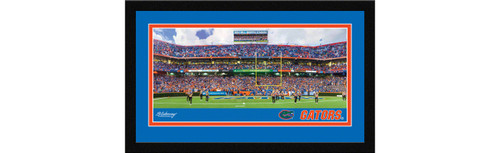Florida Gators Football Framed Panoramic Picture - Ben Hill Griffin Stadium