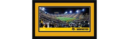 Iowa Hawkeyes Football Framed Panoramic Picture - Kinnick Stadium